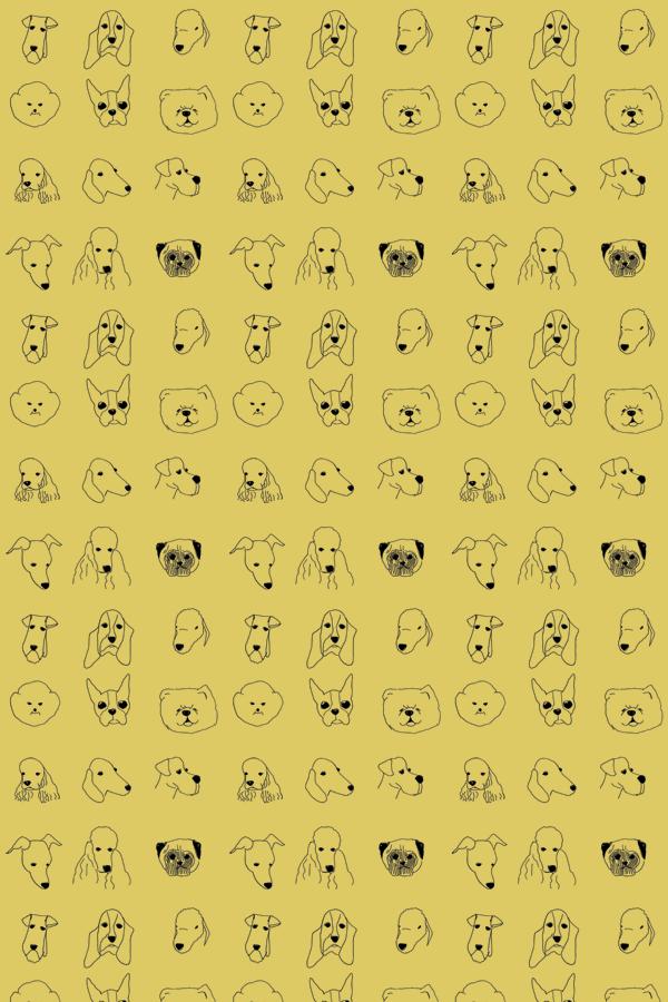 BainesFricker DOGS WALLPAPER